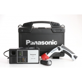 Panasonic EY 7410 LA2S Akku-Knickschrauber Winkelschrauber 3,6V 1,5Ah Li-Ion schwarz (237392)