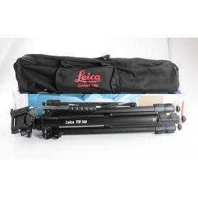 Leica Geosystems TRI 100 Kurbelstativ Nivellierstativ Bau-Stativ max. 174cm Aluminium schwarz (237517)