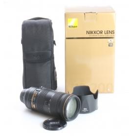 Nikon AF-S 2,8/70-200 E FL ED VR (237665)