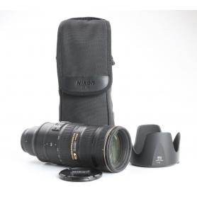 Nikon AF-S 2,8/70-200 G IF ED VR II (237141)