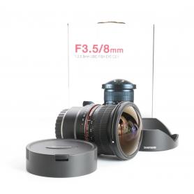 Samyang UMC 3,5/8 Fisheye CS II für Fujifilm XC / FX (237841)