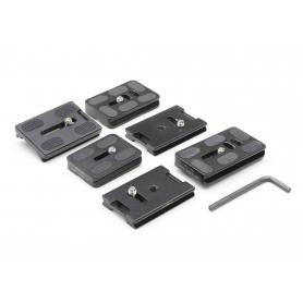 OEM Diverse Stativplatten 6 Stück (219172)