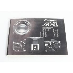 Canon Bedienungsanleitung A-1 (238004)