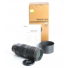 Nikon AF-S 4,0/70-200 G ED N VR (238062)