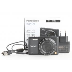 Panasonic Lumix DMC-SZ10 digitale Kompaktkamera 16,1MP 4,5-45mm LCD-Display FHD VGA WLAN USB HDMI schwarz (238209)