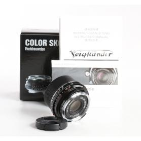 Voigtländer Color-Skopar Pancake 2,5/35 Black II VM (238286)