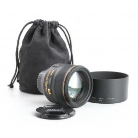 Nikon AF-S 1,4/85 G N (238311)