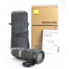 Nikon AF-S 2,8/70-200 G IF ED VR (238339)