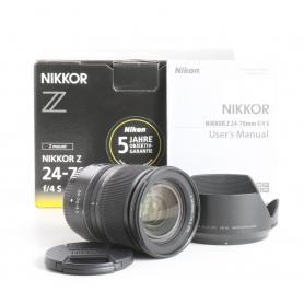 Nikon NIKKOR Z 4,0/24-70 S (238433)