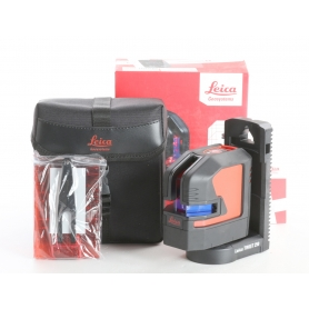 Leica Geosystems Lino L2 Linienlaser Lasermessgerät max.25 m selbstnivellierend schwarz rot (238180)