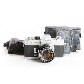 Canon EX Auto QL Analoge Kamera mit 50mm Objektiv (238392)