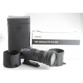 Sigma DG 5,0-6,3/150-600 HSM OS S Sports C/EF (238522)