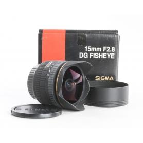 Sigma EX 2,8/15 DG Fisheye C/EF (238659)