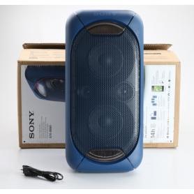 Sony GTKXB60L Wireless Lautsprecher Partybox NFC Bluetooth blau (238665)