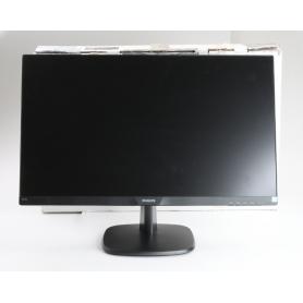 Philips 273V7QJAB A+ LED-Monitor Bildschirm Reaktionszeit 5ms 1920x1080 Pixel HDMI DisplayPort schwarz (238671)