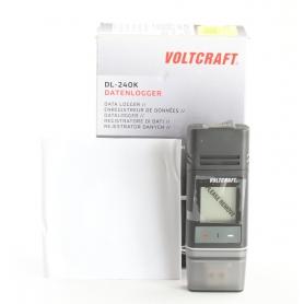 VOLTCRAFT DL-240K Temperatur-Datenlogger -200 bis 1372 °C PDF Funktion kalibriert nach Werksstandard USB (238738)