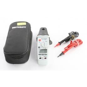 VOLTCRAFT VC-539 Stromzange Hand-Multimeter digital CAT III 600 V 1 mA - 80 A AC/DC grau (238739)