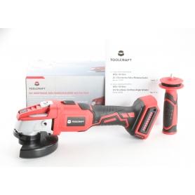 Toolcraft TO-6544041 Akku-Winkelschleifer ohne Akku 20V 8500U/min rot schwarz (238743)