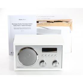 AudioAffairs 2345256 Tischradio DAB+/FM UKW USB Bluetooth Fernbedienung silber (238749)