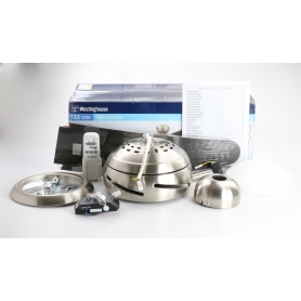 Westinghouse Bendan 7255740 Deckenventilator 80 Watt 132cm Rotordurchmesser Aluminium braun (238677)