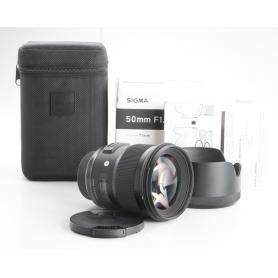 Sigma EX 1,4/50 DG HSM ART NI/AF D (238854)