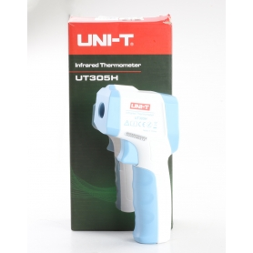 Uni-T UT305H Infrarot-Thermometer Fieber Thermometer berührungslose IR-Messung weiß blau (238795)