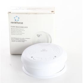 Renkforce RF101LM-101LD Funk-Rauchwarnmelder Brandmelder vernetzbar batteriebetrieben weiß (238802)