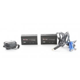 ATEN CE100 Extender Mini-USB KVM Verlängerung VGA USB2.0 1920x1200P Schwarz (238805)