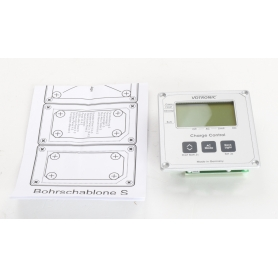 Votronic LCD Charge Control S Kontroll-Steuergerät für VBCS Triple LCD Display silber (238807)