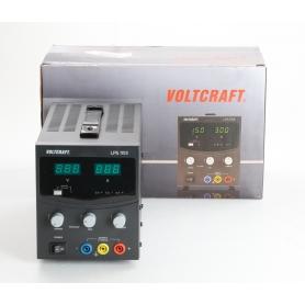 VOLTCRAFT LPS1153 Labornetzgerät linear einstellbar 0-15 V/DC 0-3 A 45W schwarz (238932)