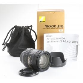Nikon AF-S 3,5-5,6/16-85 G ED VR DX (239051)
