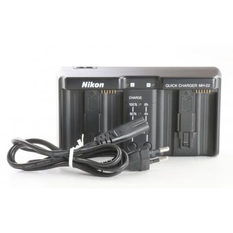 Nikon Ladegerät MH-22 (239121)