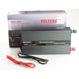 VOLTCRAFT MSW 1200-24-G Wechselrichter 1200W 21-30 V/DC Schraubklemmen Schutzkontakt-Steckdose (239342)