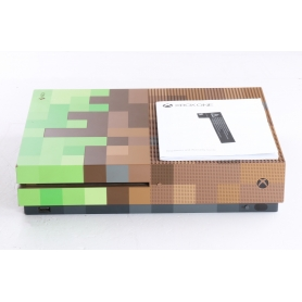 Xbox One S 1TB Minecraft Limited Edition (239344)