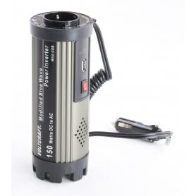 Voltcraft MSW 150-12-G Wandler Wechselrichter Wechselstrom 150 Watt 12V/DC 230V/AC schwarz (239352)