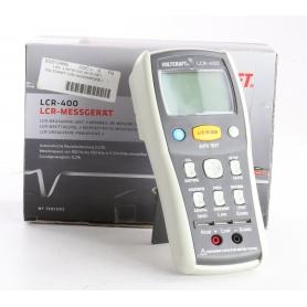 VOLTCRAFT LCR-400 Komponententester Messgerät digital kalibriert nach Werksstandard (239355)