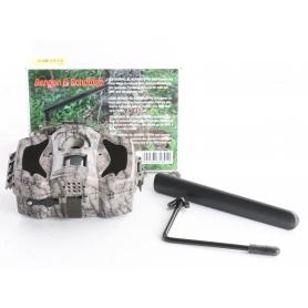 Berger & Schröter MG984G-30M Wildkamera 30MP Black LEDs No-Glow-LEDs Tonaufzeichnung Camouflage (239384)