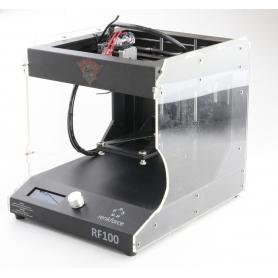 Renkforce RF100 v2 3D Druck Starter-Kit Drucker Filament Metall schwarz (239386)