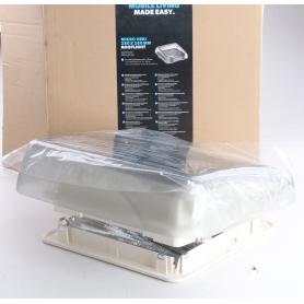 Dometic Micro Heki Wohnwagen-Dachhaube Verdunkelung Dachfenster Insektenschutz 28x28cm Zwangsentlüftung Camping (239392)