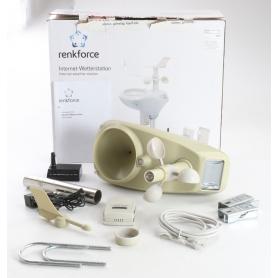 Renkforce WH2600 digitale Funk-Internet-Wetterstation (239332)