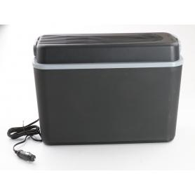 Bo-Camp Arctic elektrische Kühlbox Autokühlbox 12 Liter 41cm breit Camping Wohnwagen Wohnmobil schwarz grau (239369)