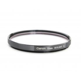 Canon UV-Filter 72 mm Skylight 1x E-72 (220173)