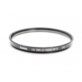 Hama UV-Filter 72 mm UV 390 (0-Haze) (IV) E-72 (220177)