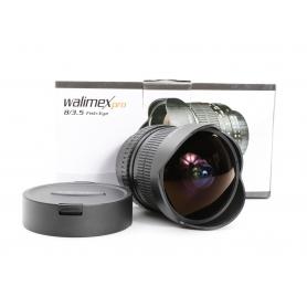 Walimex ASP 3,5/8 DG Fisheye Pro C/EF (Samyang) (220664)