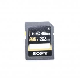 Sony SD Karte 32GB 40MB/s (220674)