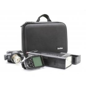 Godox Witstro AD200 Pocket Flash Taschenblitzlicht Doppelkopf 200Ws (220867)