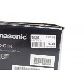Panasonic Lumix DMC-G1 (220998)