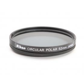 Nikon Circular Polar 52 mm Polfilter E-52 (220201)