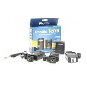 Phottix Tetra Wireless Studio Flash Trigger (PT-04 II) (220387)