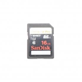 Sandisk SD Karte 16GB Extreme PRO 95 Mb/s (220677)